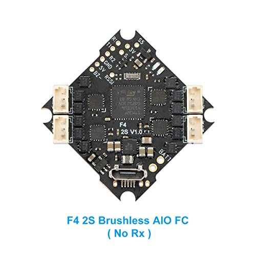 BETAFPV 2S F4 FC AIO Brushless Flight Controller No RX ESC OSD Smart Audio for 2S Brushless FPV Whoop Drone Beta75 Pro 2 Beta65 Pro 2 Beta75X Beta65X -