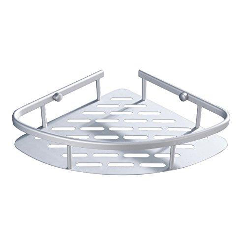 Mensole bagno triangolare bestomz mensola angolare doccia portaoggetti in alluminio