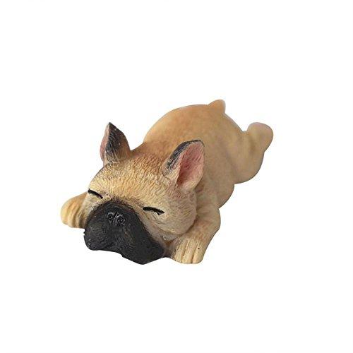rameng 3D Französische Bulldogge Mignon Auto rréfrigérateur Büro selbstklebend magnetisch Wandtattoo, B