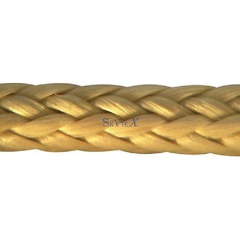 1,4mm 165dan aramide (AR) alto modulo industria–Norma–Fune rotondo, attacco da Kevlar Rope, AR corda–Corda di Angel Kevlar rotore–Tech–Norma–Corda–corda Protec marca cordino Cord-colore: oro giallo 25m