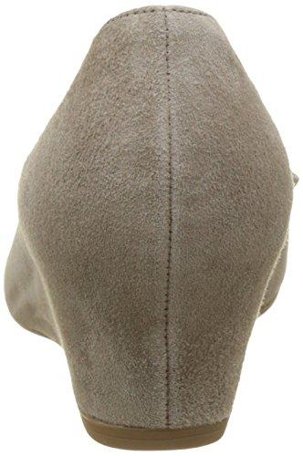Gabor Fashion, Pompes à Plateforme Plate Femme Beige (kiesel 12)