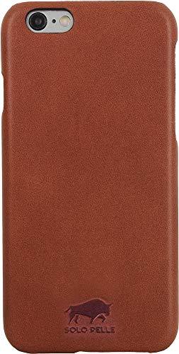 Solo Pelle iPhone 6 Plus / 6S Plus Ledertasche Backcover Ultra Slim Vintage Braun Filson Oil