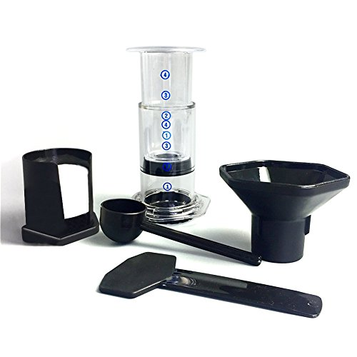 PROKTH French Coffee Press mit Kaffee Filter Tools Set, tragbarer Kaffeemaschine Drücken Pot...