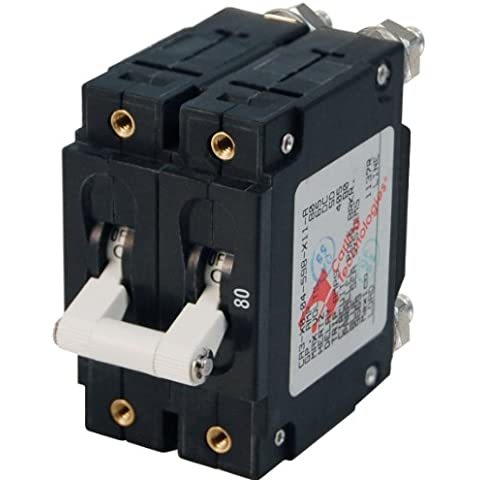 Blue Sea - 7256 C-Series Doppia Pole Circuit Breaker -