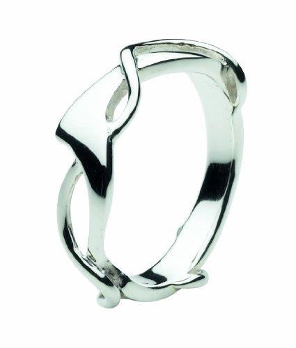 Dew 20W3HPN - Anillo de mujer de plata de ley (talla: 14)