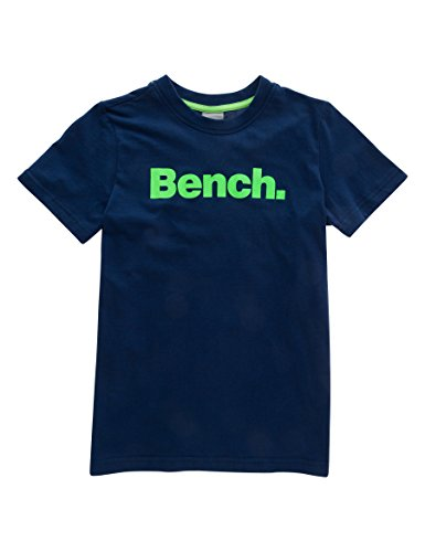Bench Jungen T-Shirt Core Tee, Blau (Dark Navy Blue Ny013), 176 (Herstellergröße: 15-16)