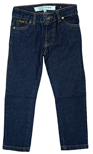Boys Firetrap Dark Wash Denim Slim Leg Classic Fit Fashion Jeans sizes from 2 to 13 Years
