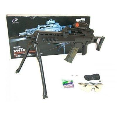 PEKL Ray Softair - Softairgewehr Sniper mit Zweibein und Leuchvisier zu Ray