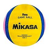 Mikasa W-6000 W Balón de Goma, Wasserball W6000W, Mehrfarbig, Umfang: 68-71 cm, 5
