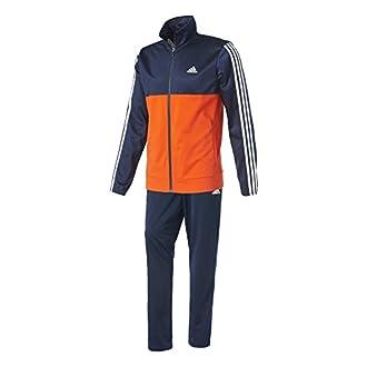 adidas Back2bas 3S TS Survêtement pour Homme, Homme, BK4090, Multicolore (Maruni/Energi/Blanco), 156L
