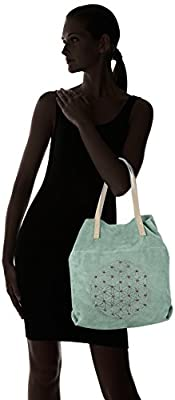 Chicca Borse 8627 - Bolso de hombro Mujer de Chicca Borse