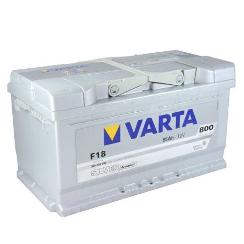 VARTA - Batteria per auto F18 SIlver Dynamic da 85 Ah