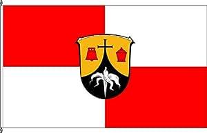 Flagge Fahne Bannerflagge Neunkirchen - 80 x 200cm