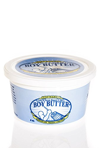 Boy Butter H2O - Gleitcreme auf Wasserbasis im Tigel - 114 gr. / 4 oz.