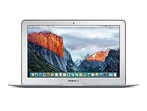 Apple MacBook Air MJVM2D/A 29,5 cm (11,6 Zoll) Notebook (Intel Core i5 5250U, 1,6GHz, 4GB RAM, 128GB HDD, Mac OS) silber