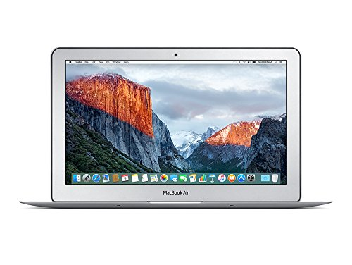 Apple MacBook Air MJVM2D/A 29,5 cm (11,6 Zoll) Notebook (Intel Core i5 5250U, 1,6GHz, 4GB RAM, 128GB HDD, Mac OS) silber (Apple Macbook Air I5)