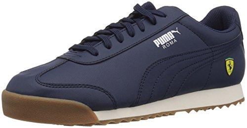 Puma Unisex-Kids Ferrari Roma Sneaker, Peacoat-Peacoat, 12.5 M US Little Kid (Mädchen Ferrari Schuhe Puma)