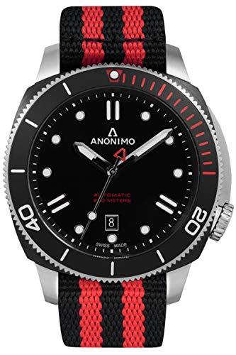 Anonimo nautilo orologio Uomo Analogico al Automatico con cinturino in...