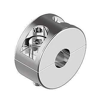 Stoppklemme 4mm, 8 St/ück teilbar aus Edelstahl V4A Seilklemme Drahtklemme Drahtseil Klemme Drahtseilklemme