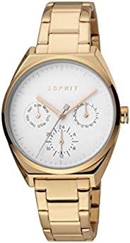 Esprit Slice Multi Women's Silver Dial Stainless steel Analog Watch - ES1L060M