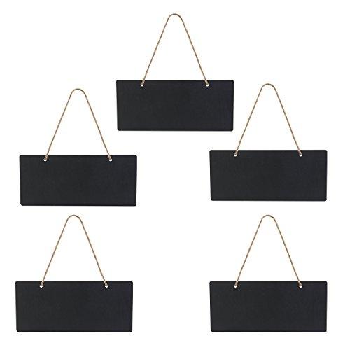leorx-ardoise-tableau-noir-en-bois-suspendu-5-pieces