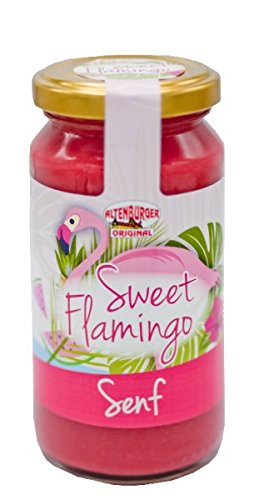 Sweet Flamingo Senf (200ml Glas)