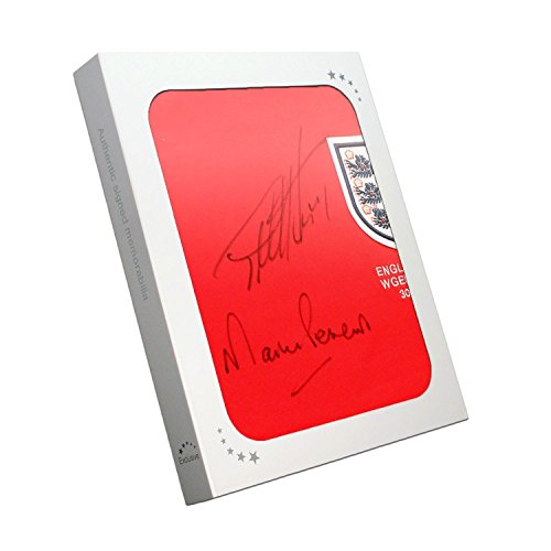 Sir Geoff Hurst And Martin Peters Signed England Football Shirt In Gift Box  – England Football Memorabilia e01caf0ff