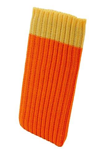 smartec24® iPhone 6 / 6s / 7 Handysocke Strick-Tasche in orange Original Rundumschutz Dank Dicker dicht gestrickter Wolle passt Sich Dank Strech perfekt dem jeweiligen Smartphone an