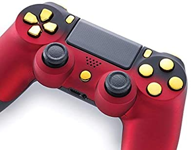 Controller - Red Shadow/Gold (PS4)
