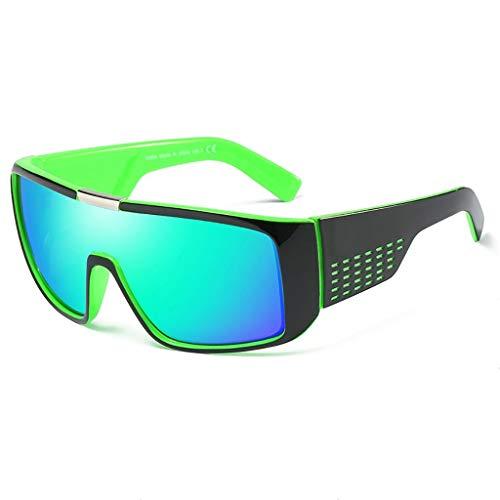 YHDD Herren-Sport-Sonnenbrillen Radfahren Brillen Outdoor-Sonnenbrillen DOMO Sonnenbrillen (Farbe : #5)