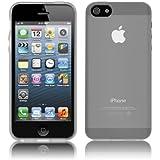 Coque Ultra Fine pour Apple iPhone SE / 5 / 5s - Collection Transparent - Blanc - par PrimaCase