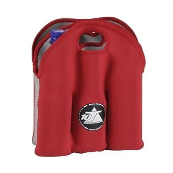 10t Outdoor Equipment 10t Cooler 6 X 500ml Neopren Dosenkühler Flaschenkühler Kühler Getränkekühler Kühltasche Mit Tragegriff 9