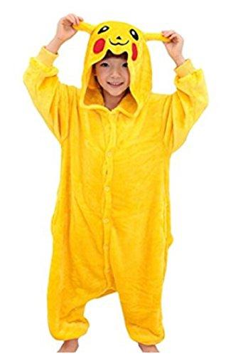 Koo-T Mädchen Strampelanzug gelb Pikachu