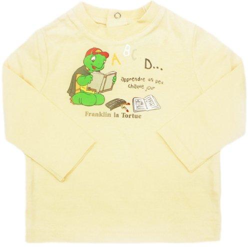 tee-shirt-manches-longues-bebe-franklin-la-tortue-jaune-6mois