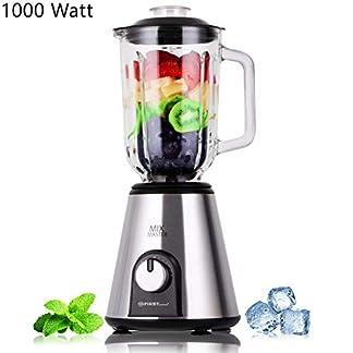 TZS-First-Austria-1000-Watt-Standmixer-Glas-Hochleistungs-Mixer-6-Edelstahl-Klingen-15-Liter-21650-Umin-2-Geschwindigkeiten-Impulse-Taste-Glasbehlter-Ice-Crusher-Zerkleinerer-Smoothie-Maker