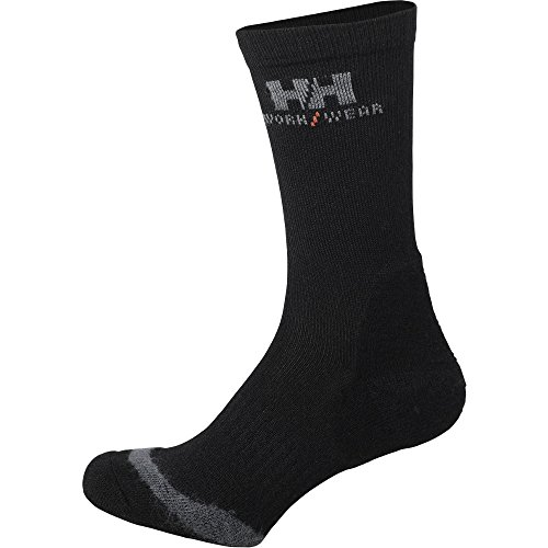 Helly Hansen 75720_990 Chaussettes Fakse Taille 46/48 Noir