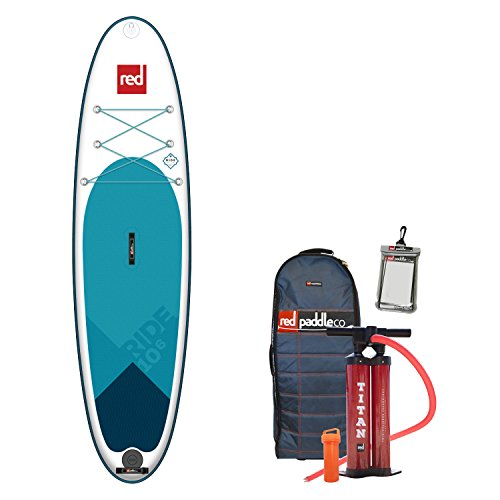 Red Paddle 2018 Co Ride 10'6 Inflatable Stand Up Paddle Board + Bag, Pump, Paddle & Leash