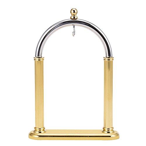 Bogenform Golden Kupfer Pocket Watch Stand (Arch Bücherregal)