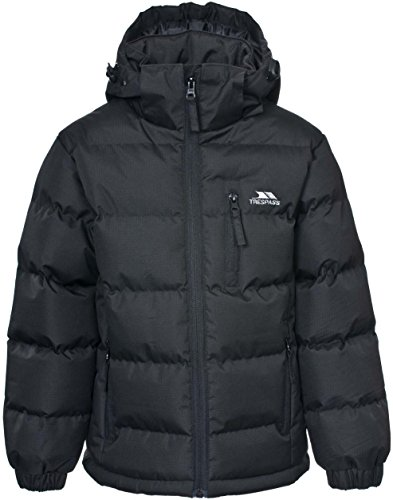 Boys Trespass Tuff Quilted School Jacket | Coat