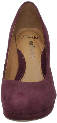 Clarks Anika Kendra 203544714 Damen Pumps Braun (Marron (Chocolate Suede))