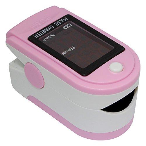 Fingerpulsoximeter CMS 50DL in 6 Farben, Farben:Rosa
