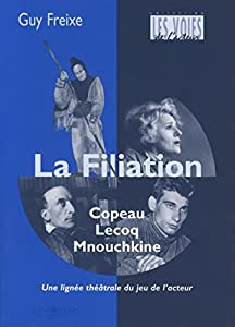 "Afficher ""La filiation Copeau - Lecoq - Mnouchkine"""