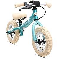 """Bikestar Bicicleta sin Pedales para niños ★ 10 Pulgadas ★ Color Turquesa ★ A Partir DE 2-3 años ★ 10"""" Sport Edition 2018"""