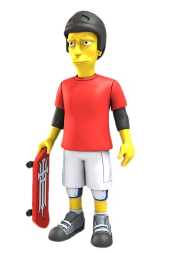NECA Simpsons 25th Anniversary - Tony Hawk 12,5 cm Action Figure Series 2 1