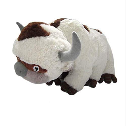 zoomingmingli Kuscheltiere Plüsch Puppe Kuh Spielzeug Geschenk Kawaii Plüschtiere Einhorn Kissen Spielzeug 45 cm (Kuh Puppe)