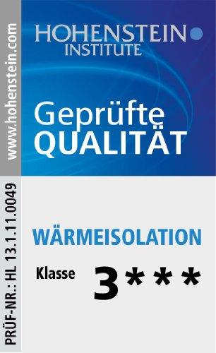 200 x 200 cm Badenia Bettcomfort Steppbett Irisette de luxe Mono, weiß – verschiedene Größen - 8