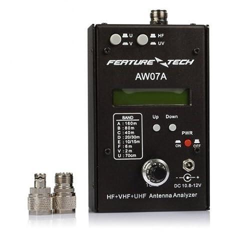 SainSonic AW07A SWR HF VHF UHF Analyseur AnntenneImpédance