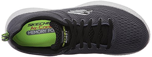 Skechers Sport Burst Oxford charcoal/schwarz