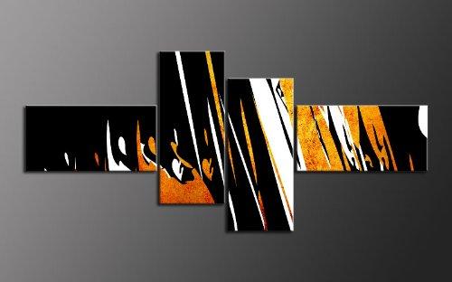 Top quadro su tela 4immagini art n. m42025colorato style moderne incorniciata su telaio. stampa d' arte come un murale sul telaio. più economico di un dipinto ad olio poster con cornice gigante. guenstig made in germany