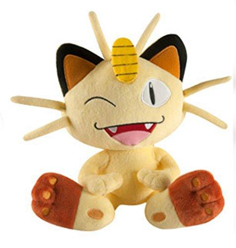 genuine-boxed-tomy-pokemon-meowth-winking-large-plush-toy-10-26-cms